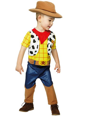 Woody - Baby and Toddler Costume back