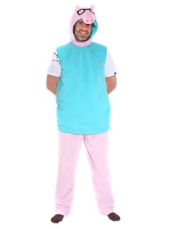 Daddy Pig - Adult Costume