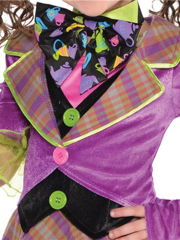 Mad Hatter - Child Costume back