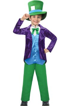 Top Hatter - Child Costume