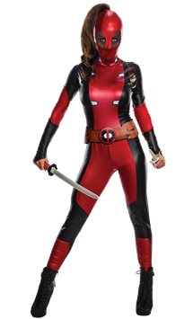 Deadpool Girl - Adult Costume