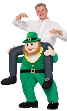 Ride On Leprechaun - Adult Costume