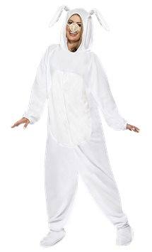 White Rabbit Costume - Adult Costume