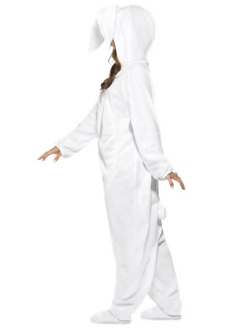 White Rabbit Costume - Adult Costume left