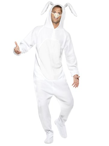 White Rabbit Costume - Adult Costume right