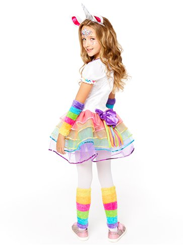 Rainbow Unicorn - Child Costume back