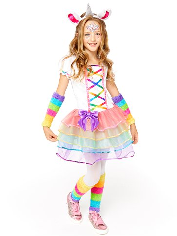 Rainbow Unicorn - Child Costume front