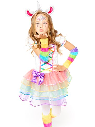 Rainbow Unicorn - Child Costume left