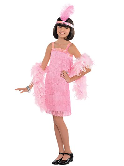 Pink Flapper Dress - Child Costume