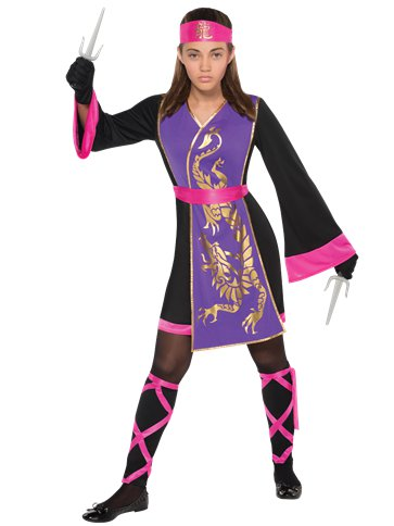 Sassy Samurai - Child & Teen Costume front
