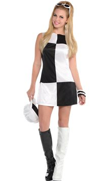 Mod Girl - Adult Costume