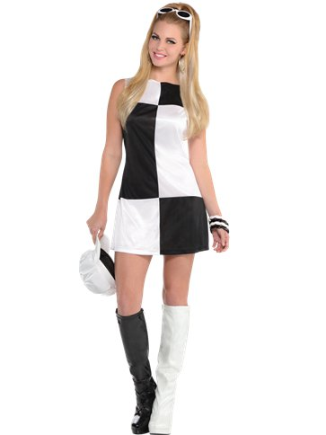 Mod Girl - Adult Costume front