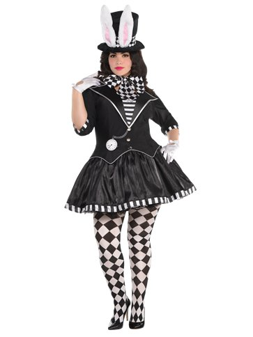 Dark Mad Hatter Plus Size - Adult Costume front