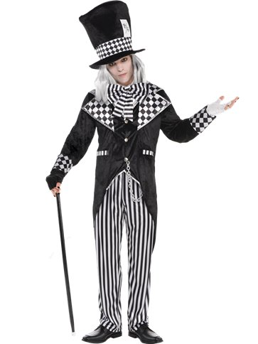 Totally Mad Hatter - Adult Costume front