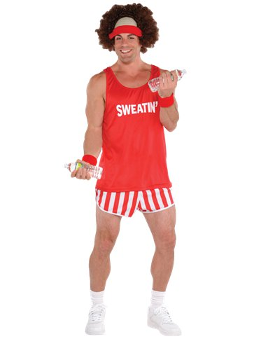 Exercise Maniac - Adult Costume front