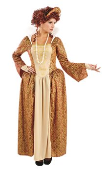 Tudor Queen - Adult Costume