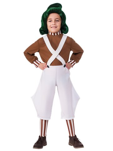Oompa Loompa - Child Costume front