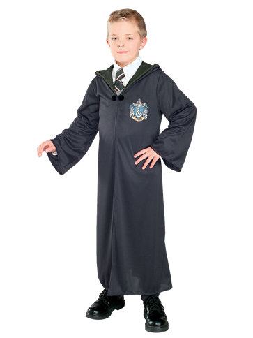 Slytherin Robe - Child Costume front