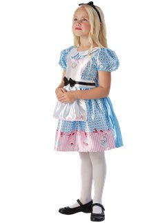 Deluxe Alice in Wonderland - Child Costume