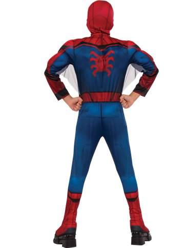 Spider Man Homecoming Deluxe Muscle Chest Child Costume