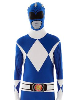 Blue Power Ranger Morphsuit