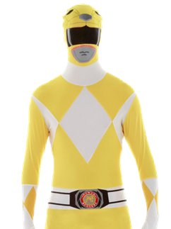 Yellow Power Ranger Morphsuit