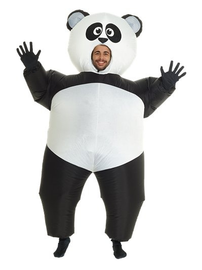 Giant Inflatable Panda - Adult Costume