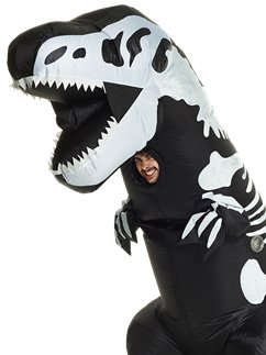 Giant Inflatable T-Rex Skeleton