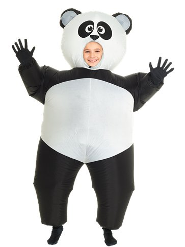 Giant Inflatable Panda - Child Costume front