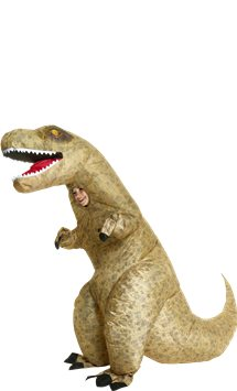 Giant Inflatable T-Rex - Child Costume