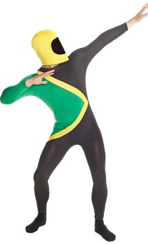 Jamaican Morphsuit - Adult Costume