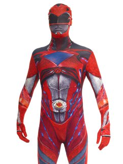 Power Rangers Movie Morphsuit Red