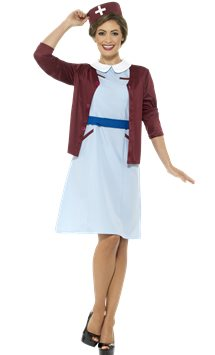 Vintage Nurse - Adults Costume