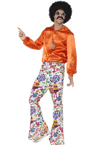 60s Groovy Flares - Adult Costume left