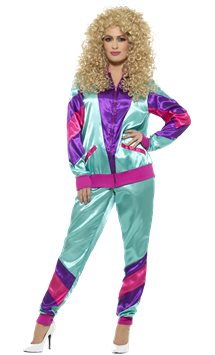 80's Shell Suit - Adult Costume