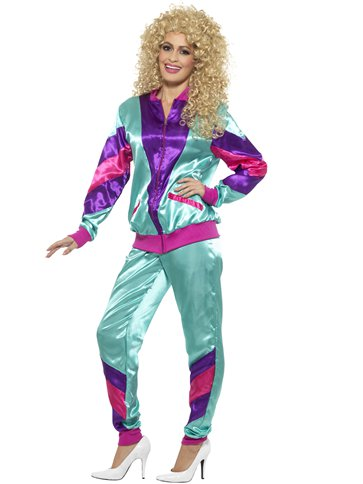 80's Shell Suit - Adult Costume left