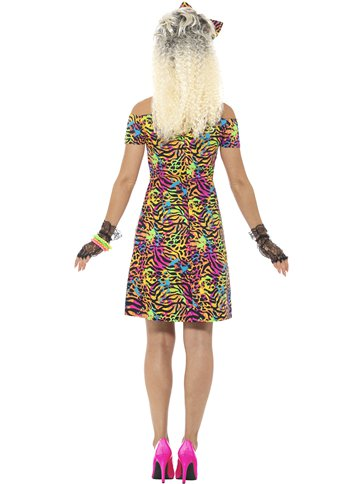 80's Party Animal - Adult Costume back