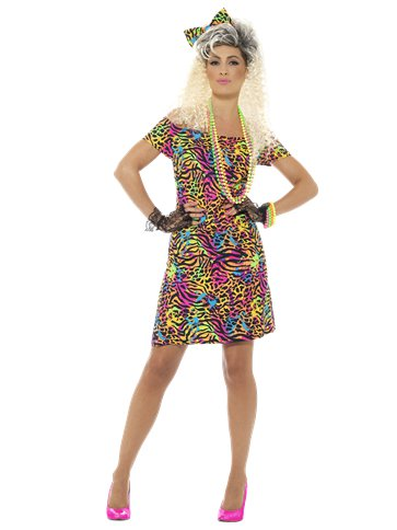 80's Party Animal - Adult Costume front