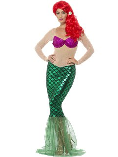 Deluxe Sexy Mermaid - Adult Costume