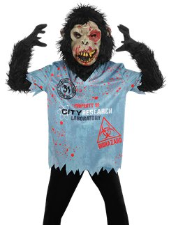 Chimp Zombie Boy