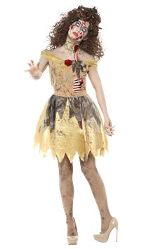 Zombie Golden Fairytale - Adult Costume