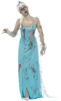 Zombie Froze to Death - Adult Costume