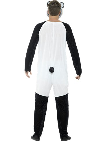 Deluxe Zombie Panda - Adult Costume back