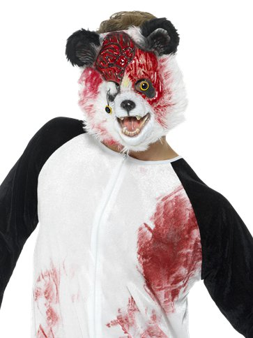 Deluxe Zombie Panda - Adult Costume right