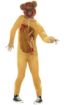 Deluxe Zombie Teddy Bear - Adult Costume