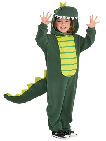 Zipster Dinosaur - Child Costume front