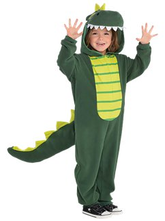 Zipster Dinosaur - Child Costume