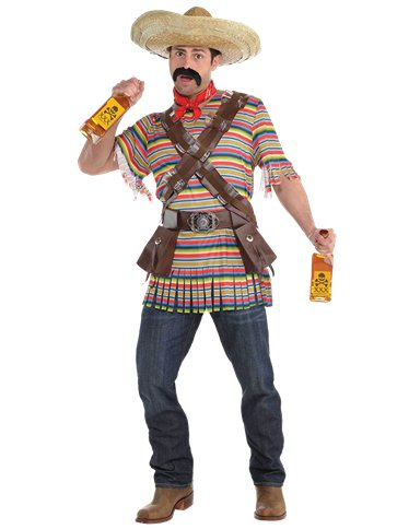 Tequila Bandito - Adult Costume front