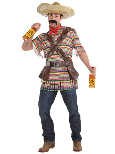 Tequila Bandito - Adult Costume