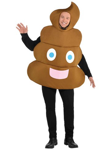 Pooper - Adult Costume front